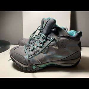 Womens Merrell Select Dry Castle Rock Hiking Boots